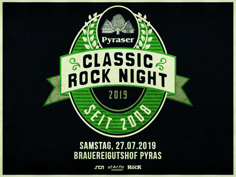 PYRASER CLASSIC ROCK NIGHT 2019