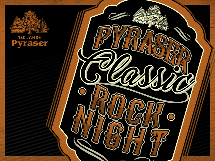 PYRASER CLASSIC ROCK NIGHT 2020